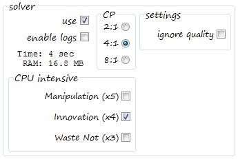 Crafting Solver v1.3.34